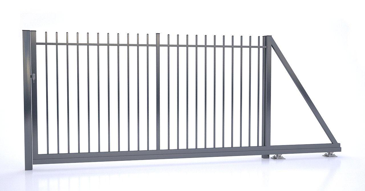 Brama i ogrodzenie - Brama przesuwna