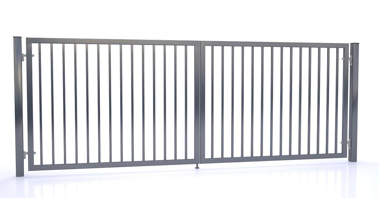 Brama i ogrodzenie - Brama uchylna