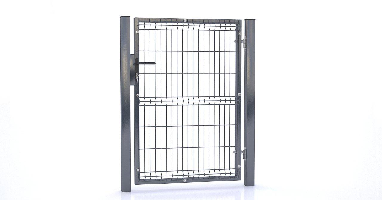 Brama i ogrodzenie - Furtka
